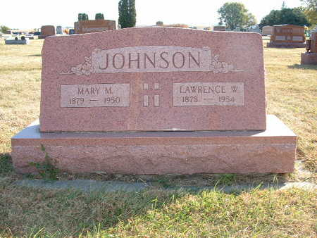 JOHNSON, MARY M - Shelby County, Iowa | MARY M JOHNSON