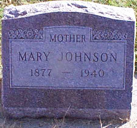 JOHNSON, MARY - Shelby County, Iowa | MARY JOHNSON