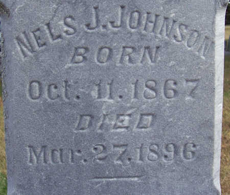JOHNSON, NELS J. (CLOSE-UP) - Shelby County, Iowa | NELS J. (CLOSE-UP) JOHNSON