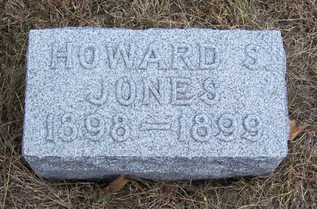 JONES, HOWARD S. - Shelby County, Iowa | HOWARD S. JONES