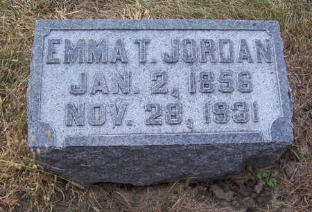 JORDAN, EMMA T. - Shelby County, Iowa | EMMA T. JORDAN