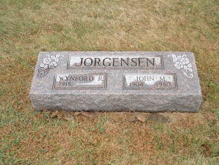 JORGENSEN, JOHN M - Shelby County, Iowa | JOHN M JORGENSEN