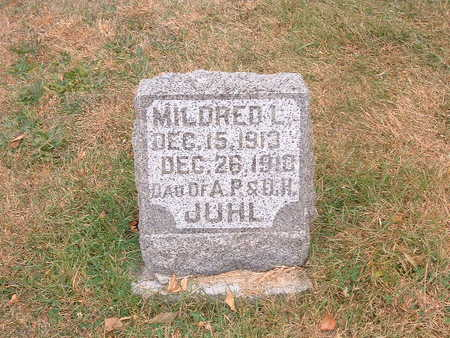 JUHL, MILDRED - Shelby County, Iowa | MILDRED JUHL