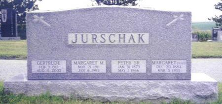 JURSCHAK, MARGARET MARY - Shelby County, Iowa | MARGARET MARY JURSCHAK