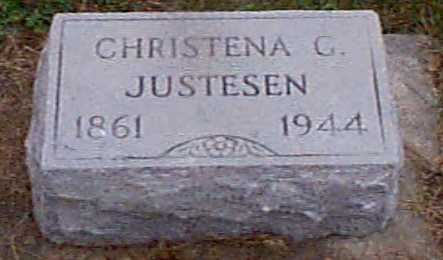 JUSTESEN, CHRISTENA G - Shelby County, Iowa | CHRISTENA G JUSTESEN