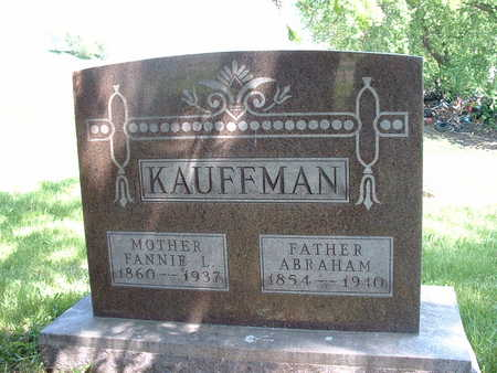 KAUFFMAN, JR., ABRAHAM - Shelby County, Iowa | ABRAHAM KAUFFMAN, JR.
