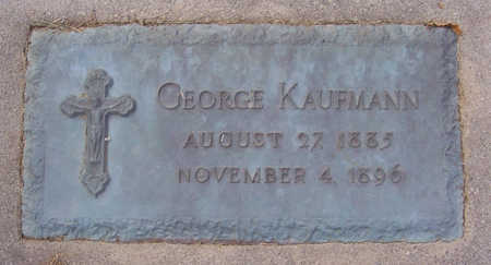 KAUFMANN, GEORGE - Shelby County, Iowa | GEORGE KAUFMANN