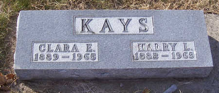 KAYS, HARRY L. - Shelby County, Iowa | HARRY L. KAYS
