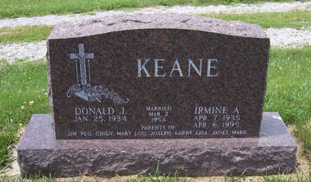 KEANE, DONALD J. - Shelby County, Iowa | DONALD J. KEANE