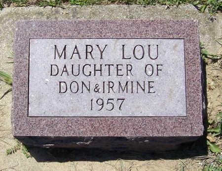 KEANE, MARY LOU - Shelby County, Iowa | MARY LOU KEANE