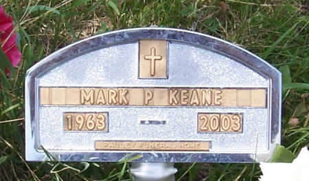 KEANE, MARK P. - Shelby County, Iowa | MARK P. KEANE
