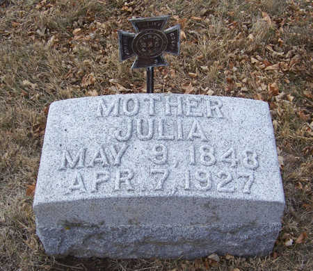 KEENEY, JULIA (MOTHER) - Shelby County, Iowa | JULIA (MOTHER) KEENEY