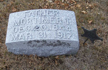 KEENEY, MORTIMER T. (FATHER) - Shelby County, Iowa | MORTIMER T. (FATHER) KEENEY