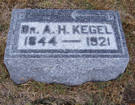 KEGEL, A. H. (DR.) - Shelby County, Iowa | A. H. (DR.) KEGEL