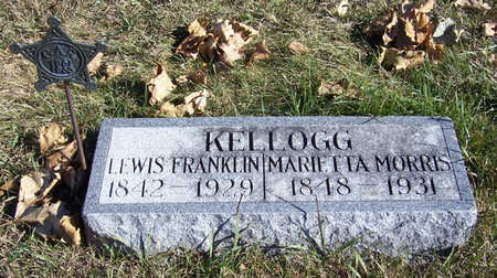 KELLOGG, LEWIS FRANKLIN - Shelby County, Iowa | LEWIS FRANKLIN KELLOGG