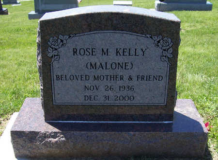 MALONE KELLY, ROSE M. - Shelby County, Iowa | ROSE M. MALONE KELLY