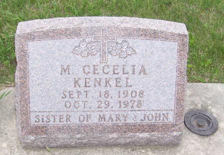 KENKEL, MARY CECELIA - Shelby County, Iowa   MARY CECELIA KENKEL