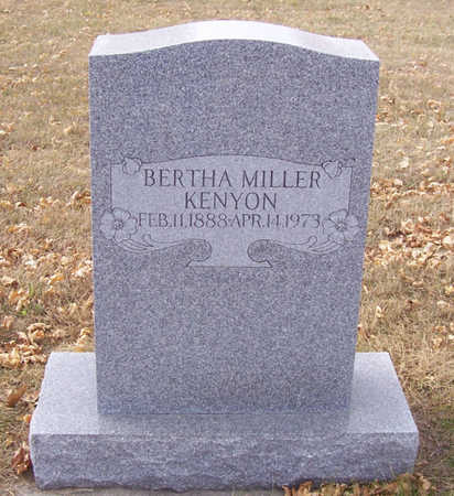 KENYON, BERTHA - Shelby County, Iowa | BERTHA KENYON