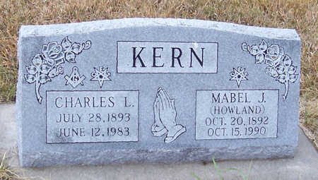KERN, MABEL J. - Shelby County, Iowa | MABEL J. KERN