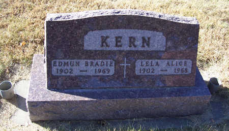 KERN, LELA ALICE - Shelby County, Iowa | LELA ALICE KERN