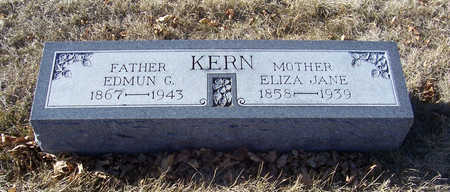 KERN, ELIZA JANE (MOTHER) - Shelby County, Iowa | ELIZA JANE (MOTHER) KERN