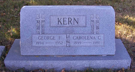 KERN, GEORGE F. - Shelby County, Iowa | GEORGE F. KERN