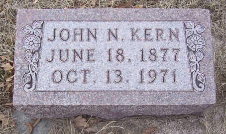 KERN, JOHN N. - Shelby County, Iowa | JOHN N. KERN