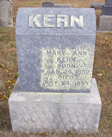 KERN, MARY ANN - Shelby County, Iowa | MARY ANN KERN