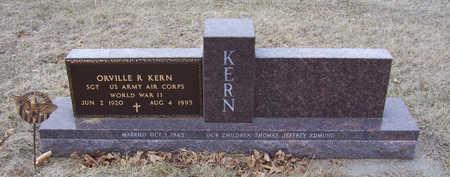 KERN, ORVILLE R. - Shelby County, Iowa | ORVILLE R. KERN