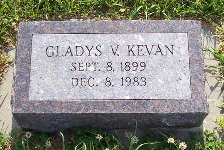 KEVAN, GLADYS V. - Shelby County, Iowa | GLADYS V. KEVAN