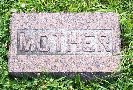 KEVAN, SARAH L. (MOTHER) - Shelby County, Iowa | SARAH L. (MOTHER) KEVAN