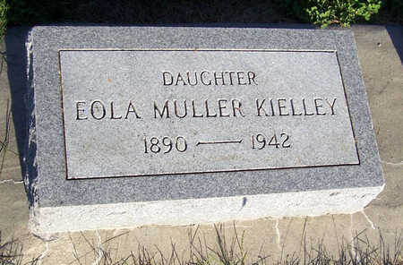 MULLER KIELLEY, EOLA - Shelby County, Iowa | EOLA MULLER KIELLEY