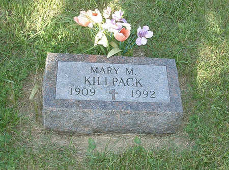 KILLPACK, MARY M - Shelby County, Iowa | MARY M KILLPACK