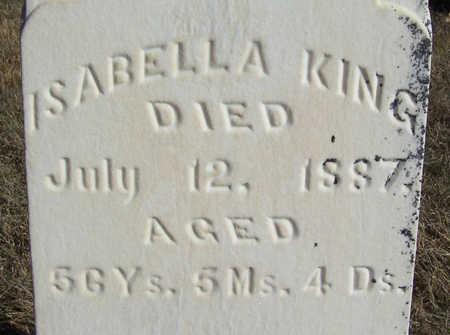 KING, ISABELLA (CLOSE-UP) - Shelby County, Iowa | ISABELLA (CLOSE-UP) KING