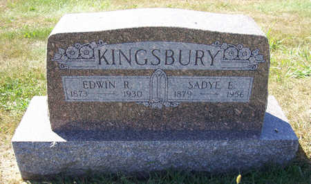 KINGSBURY, EDWIN R. - Shelby County, Iowa | EDWIN R. KINGSBURY