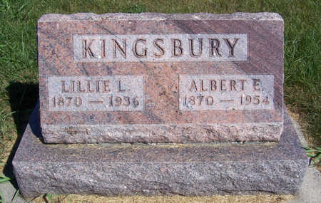 KINGSBURY, LILLIE L. - Shelby County, Iowa | LILLIE L. KINGSBURY