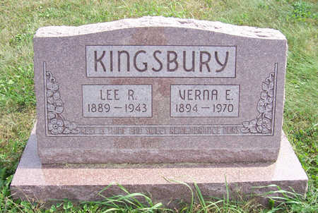KINGSBURY, VERNA E. - Shelby County, Iowa | VERNA E. KINGSBURY
