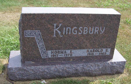KINGSBURY, NORMA E. - Shelby County, Iowa | NORMA E. KINGSBURY