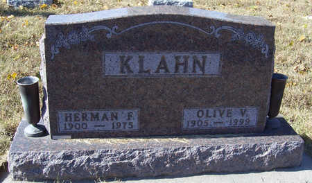KLAHN, HERMAN F. - Shelby County, Iowa | HERMAN F. KLAHN