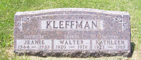 KLEFFMAN, WALTER (FATHER) - Shelby County, Iowa | WALTER (FATHER) KLEFFMAN