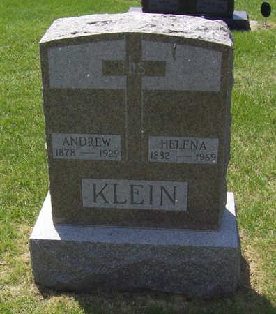 KLEIN, ANDREW - Shelby County, Iowa | ANDREW KLEIN