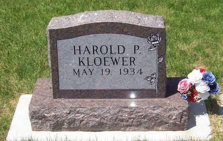 KLOEWER, HAROLD P. - Shelby County, Iowa | HAROLD P. KLOEWER