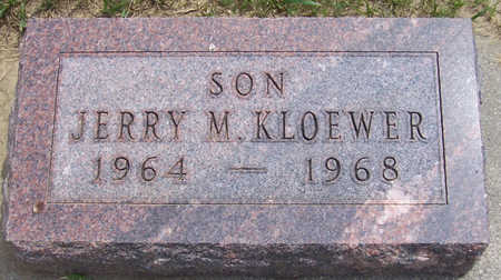KLOEWER, JERRY M. - Shelby County, Iowa | JERRY M. KLOEWER