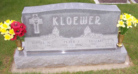KLOEWER, PETER F. - Shelby County, Iowa | PETER F. KLOEWER