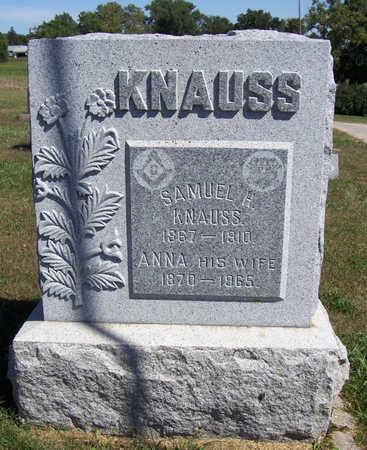 KNAUSS, ANNA - Shelby County, Iowa | ANNA KNAUSS