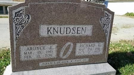 KNUDSEN, RICHARD G. - Shelby County, Iowa | RICHARD G. KNUDSEN