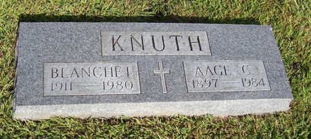KNUTH, BLANCHE I. - Shelby County, Iowa | BLANCHE I. KNUTH
