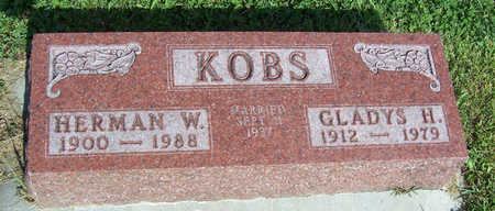 KOBS, HERMAN W. - Shelby County, Iowa | HERMAN W. KOBS