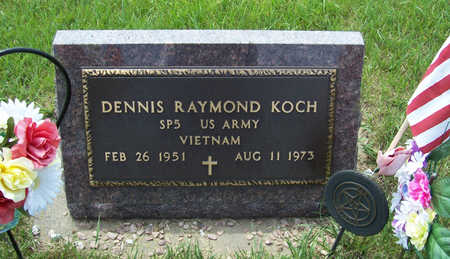 KOCH, DENNIS RAYMOND (MILITARY) - Shelby County, Iowa | DENNIS RAYMOND (MILITARY) KOCH