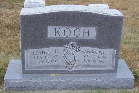 KOCH, ESTHER H. - Shelby County, Iowa | ESTHER H. KOCH
